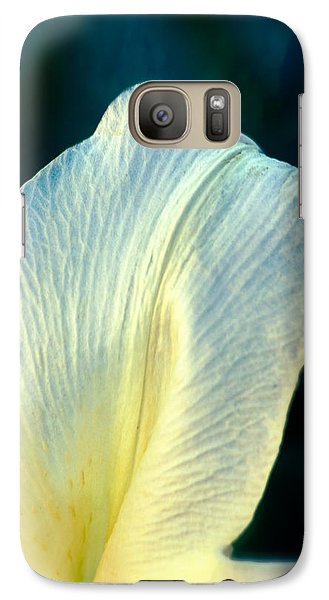 Galaxy Case featuring the photograph Leaf Of A Lily by Dave Garner