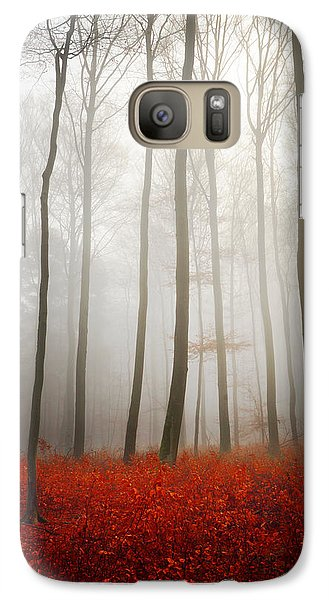 Galaxy Case featuring the photograph Leafless by Philippe Sainte-Laudy