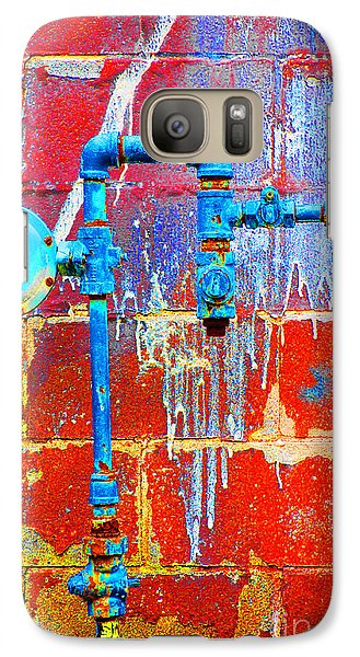 Galaxy Case featuring the photograph Leaky Faucet by Christiane Hellner-OBrien