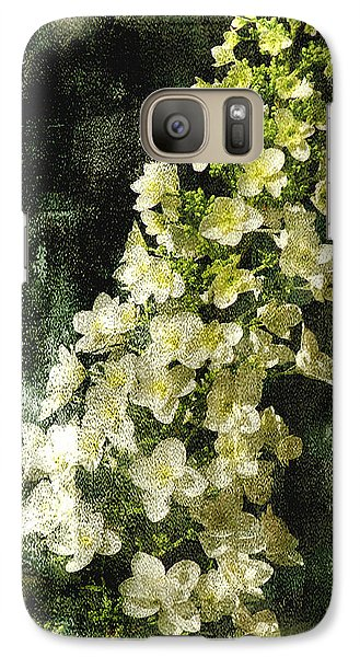 Galaxy Case featuring the digital art Lean With Me by Davina Washington