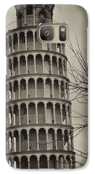 Galaxy Case featuring the photograph Leaning Tower by Miguel Winterpacht