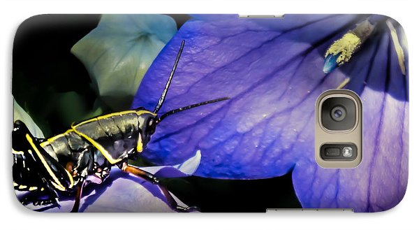 Contemplation Of A Pistil Galaxy S7 Case by Karen Wiles