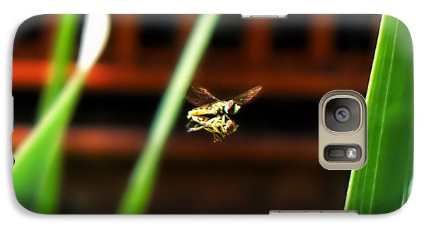 Galaxy Case featuring the photograph Leave No Bee Behind by Thomas Woolworth
