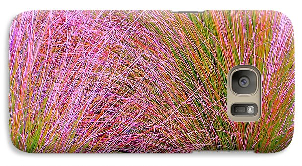Galaxy Case featuring the photograph Leaves Of Grass by Ann Johndro-Collins