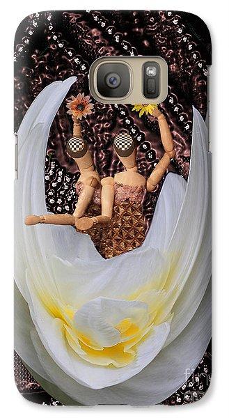 Leaving Galaxy S7 Case by Nareeta Martin
