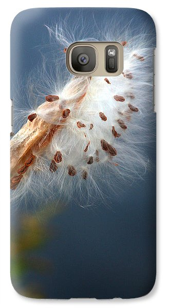Galaxy Case featuring the photograph Leaving The Nest by Mariarosa Rockefeller