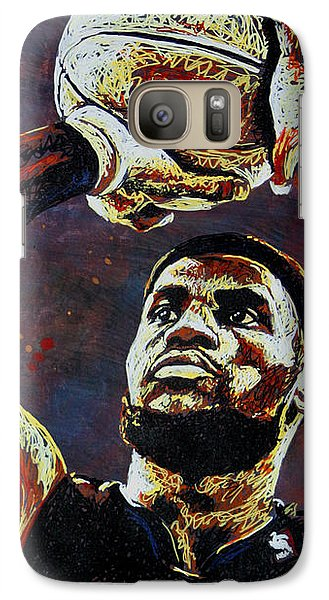 Lebron James Mvp Galaxy S7 Case