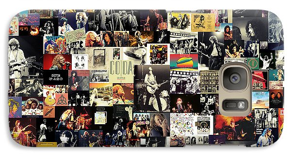 Led Zeppelin Collage Galaxy S7 Case
