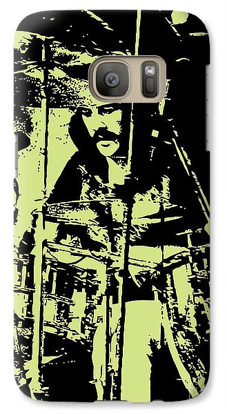 Drum Galaxy S7 Case - Led Zeppelin No.05 by Geek N Rock
