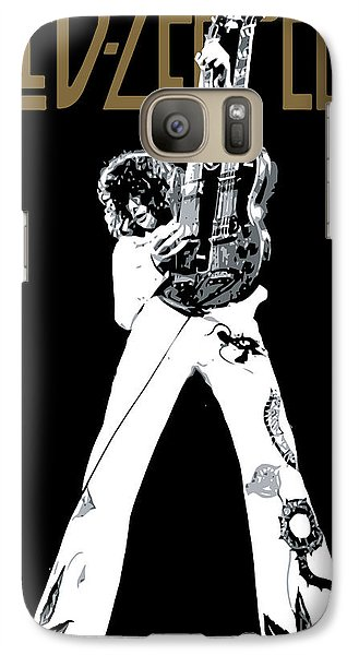 Led Zeppelin No.06 Galaxy S7 Case by Caio Caldas
