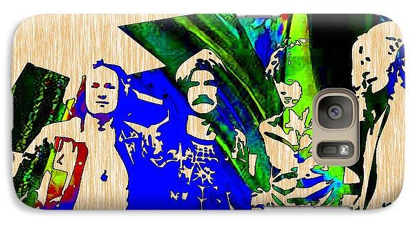 Led Zeppelin Wall Art Galaxy Case by Marvin Blaine