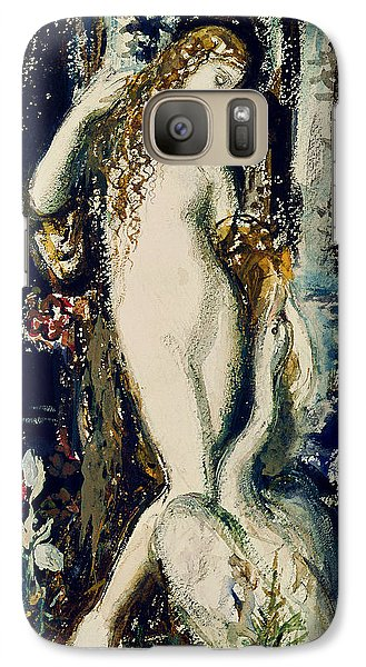 Leda  Galaxy Case by Gustave Moreau