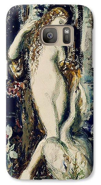 Leda  Galaxy S7 Case by Gustave Moreau