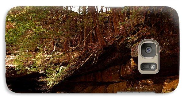 Galaxy Case featuring the photograph Ledges Of Cedar Falls by Haren Images- Kriss Haren