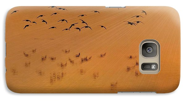 Galaxy Case featuring the photograph Left Behind Too by Laura Ragland