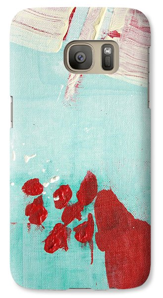 Galaxy Case featuring the painting Left Turn Lane  C2013 by Paul Ashby