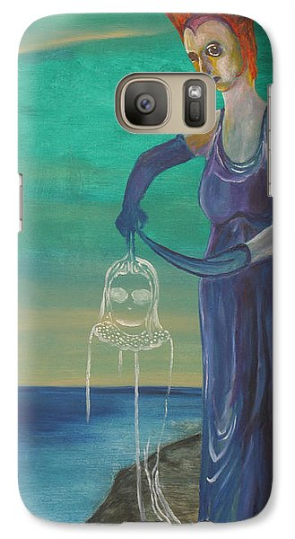 Galaxy Case featuring the painting Legacy by Christophe Ennis