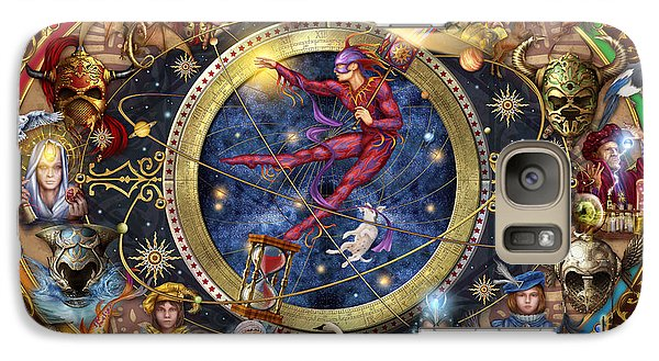 Legacy Of The Divine Tarot Galaxy Case by Ciro Marchetti