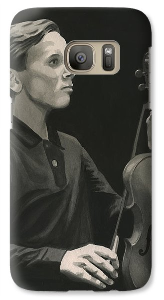 Galaxy Case featuring the painting Legendary Violinist by Ferrel Cordle