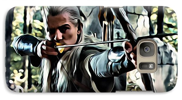 Orlando Bloom Galaxy S7 Case - Legolas by Florian Rodarte