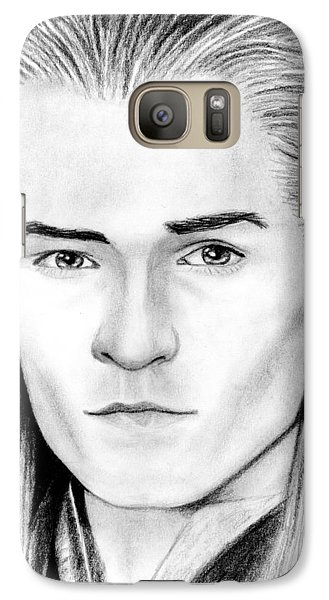 Orlando Bloom Galaxy S7 Case - Legolas Greenleaf by Kayleigh Semeniuk