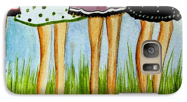 Galaxy Case featuring the painting Legs by Elizabeth Robinette Tyndall