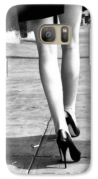 Galaxy Case featuring the photograph Legs New York by Rebecca Harman