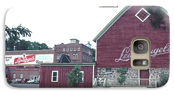 Galaxy Case featuring the photograph Leinenkugel Brewery Chippewa Falls Wi by Tom Wurl