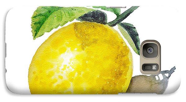 Lemon Galaxy Case by Irina Sztukowski