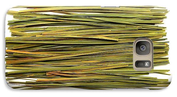 Galaxy Case featuring the photograph Lemon Verbena by Fabrizio Troiani