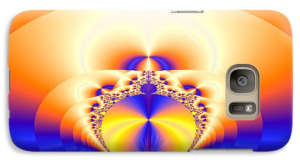 Galaxy Case featuring the digital art Lemurian Gate by Ute Posegga-Rudel