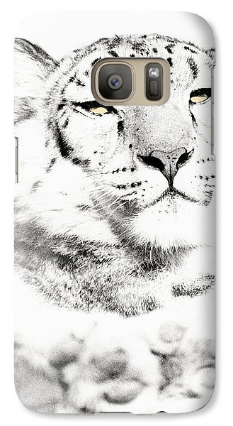 Galaxy Case featuring the photograph Leopard Casual by Christopher McKenzie