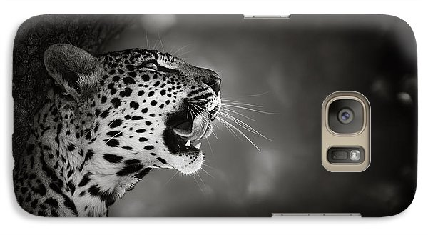 Leopard Portrait Galaxy S7 Case