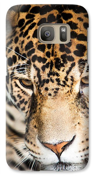 Galaxy Case featuring the photograph Leopard Resting by John Wadleigh