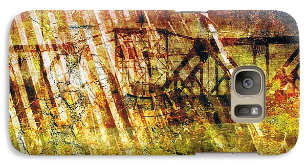 Galaxy Case featuring the photograph Less Travelled 22 by The Art of Marsha Charlebois
