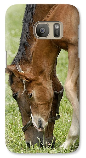 Galaxy Case featuring the photograph Lessons From Mom by Sami Martin