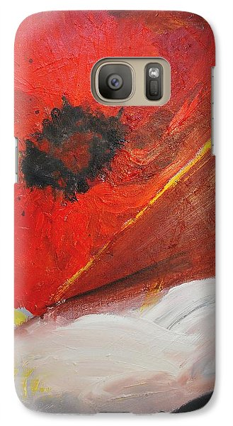 Galaxy Case featuring the painting Ode Of Remembrance by Evelina Popilian