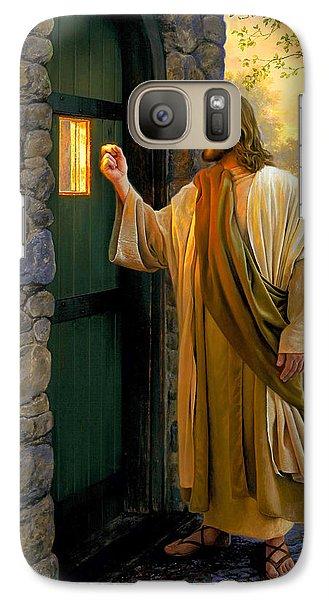 Religion Galaxy S7 Case - Let Him In by Greg Olsen