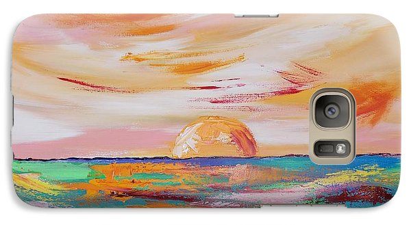 Galaxy Case featuring the painting Let It Rest by PainterArtist FIN