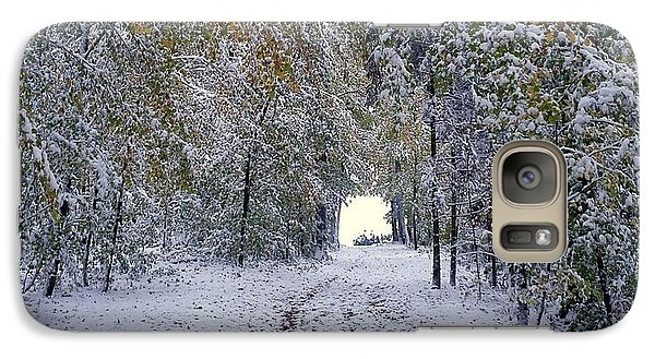 Galaxy Case featuring the photograph Let It Snow by Felicia Tica
