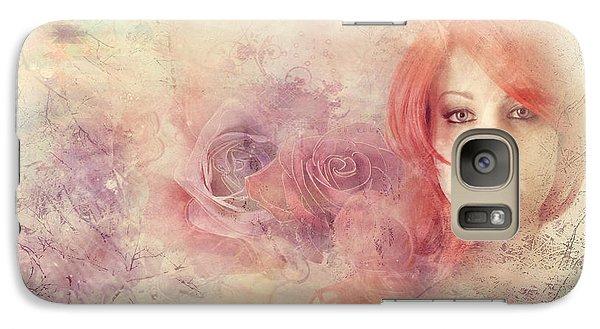 Galaxy Case featuring the digital art Let Me Go  by Riana Van Staden