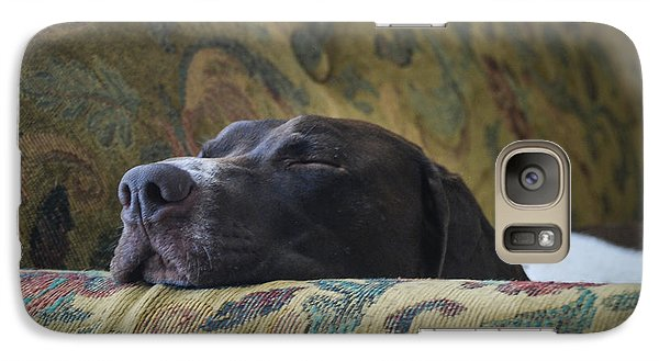 Galaxy Case featuring the photograph Let Sleeping Dogs Lie. by Phil Abrams