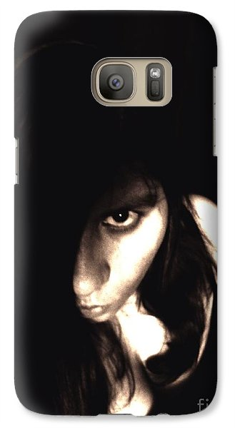Galaxy Case featuring the photograph Let The Darkness Take Me by Vicki Spindler