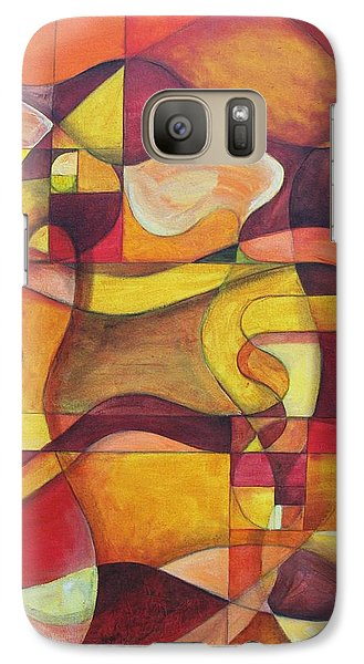 Galaxy Case featuring the painting Let There Be Songs In The Air by Rick Ahlvers
