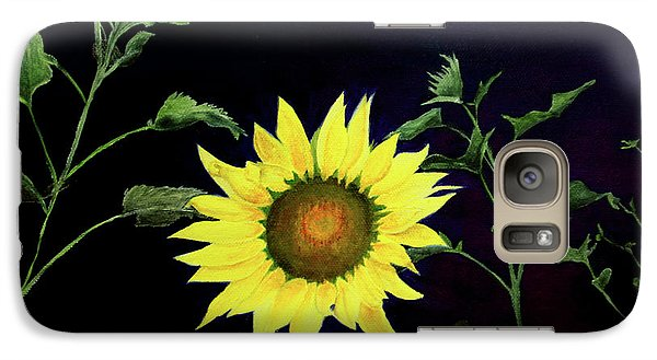 Galaxy Case featuring the painting Let Your Light So Shine by Jane Autry