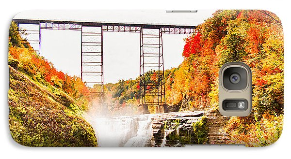 Galaxy Case featuring the photograph Letchworth State Park by Jim Lepard