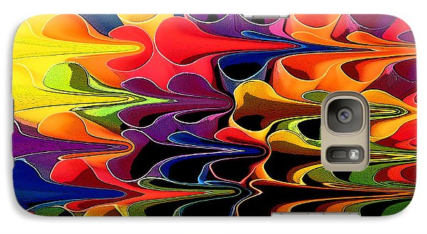 Galaxy Case featuring the digital art Lets Go This Way by Mary Bedy