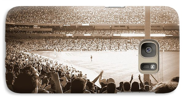 Galaxy Case featuring the photograph Let's Go Yanks by Aurelio Zucco
