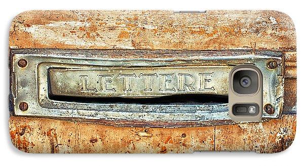 Lettere Letters Galaxy S7 Case