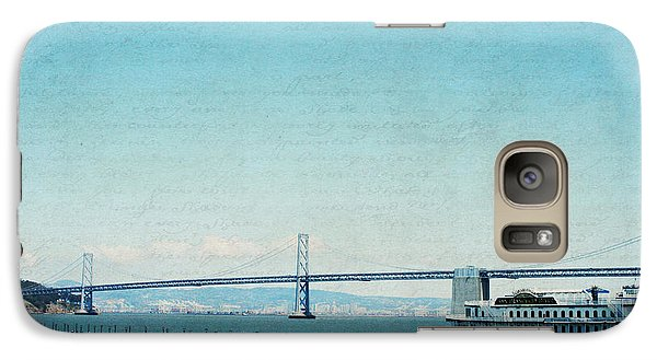 Galaxy Case featuring the photograph Letters From San Francisco by Lisa Parrish